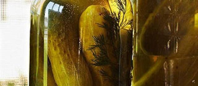 Vi's Garlic Dill Pickles by Trisha Yearwood