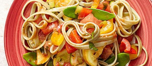 Pasta Primavera with Garden Vegetables
