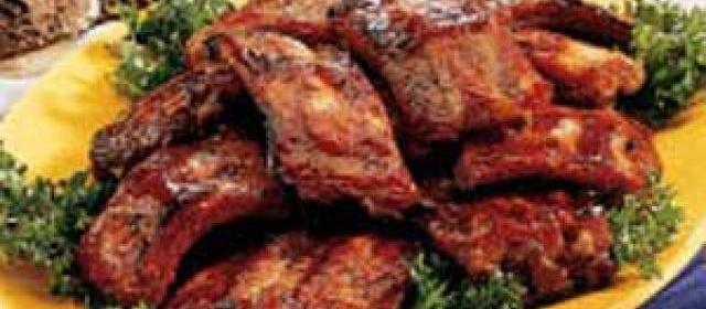 Honey-Garlic Pork Ribs