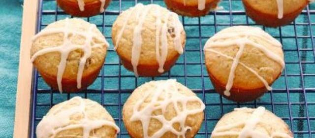 Cake Mix Cranberry Orange Muffins