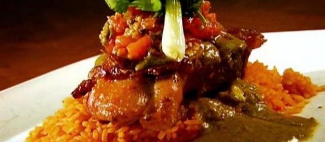 Pollo Ciudad with Pickled Tomato Salsa Recipe