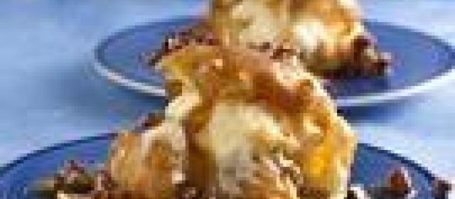 Praline Cream Puffs