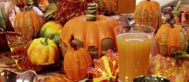 DECORATIVE CENTERPIECES Pumpkin Patch Centerpiece ...