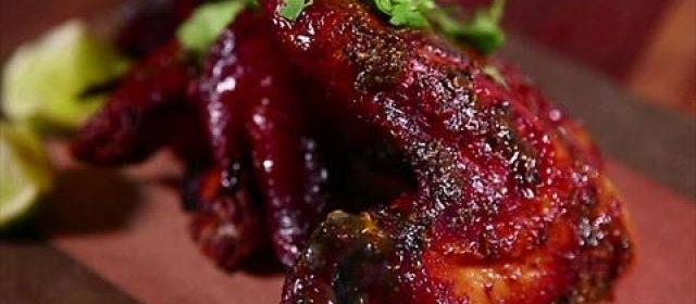 Hickory Smoked Chicken Wings with Jerk Sauce and Lime Videos ...
