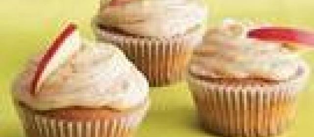 Caramel-Spice Cupcakes