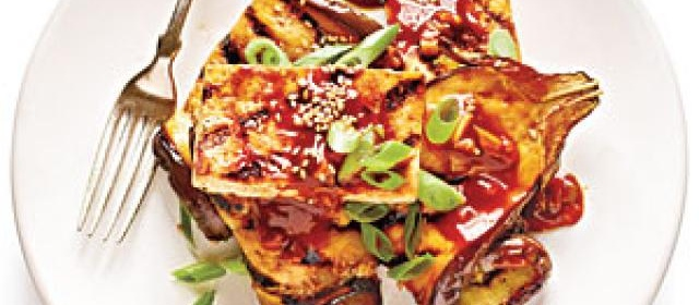 Grilled Eggplant and Tofu Steaks with Sticky Hoisin Glaze Recipe ...