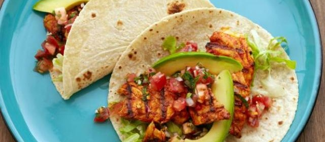 Fish Tacos with Habanero Salsa Recipe | Bobby Flay | Food Network