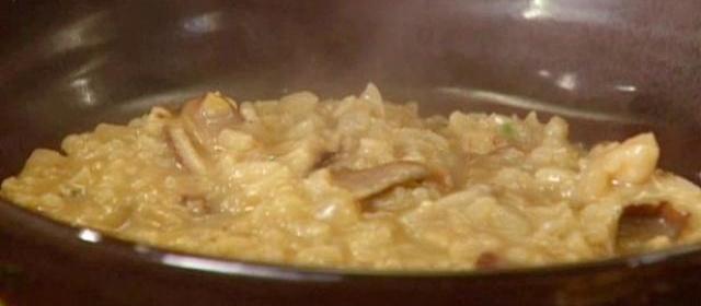 Wild Mushroom Risotto Recipe | Anne Burrell | Food Network