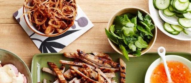 Grilled Pork Lettuce Wraps Recipe   Food Network Kitchen   Food ...