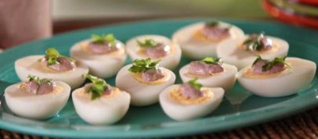 Mayonnaise and Hard Boiled Eggs