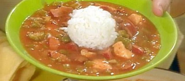One Great Gumbo with Chicken and Andouille Sausage Recipe ...