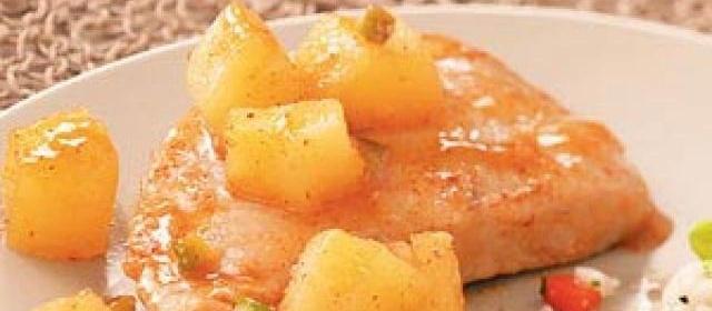 Simple Sweet Pork Chops
