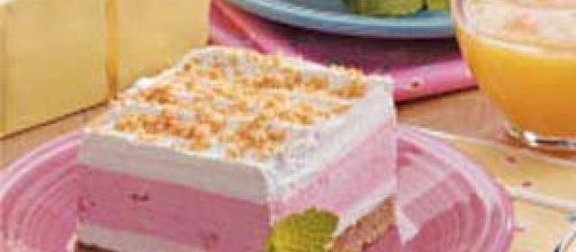 Strawberry Cream Dessert