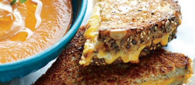 Grilled Cheese Skillet Panini