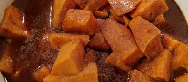Pressure Cooker Sweet Potatoes