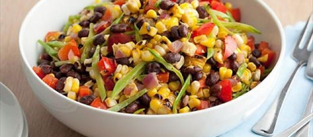 Guy's Black Bean and Corn Salad Videos