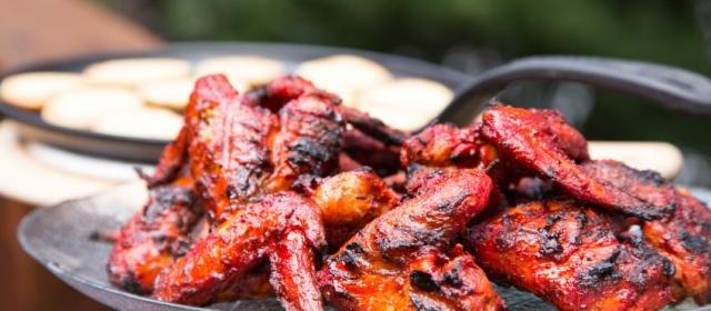 Grilled Tandoori Chicken Wings