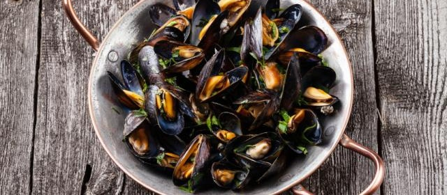 Mussels Hash