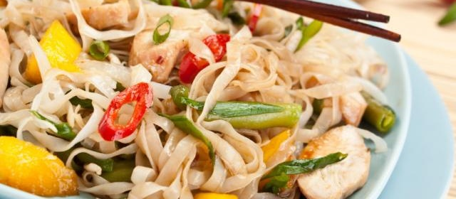 Vietnamese-Style Chicken and Noodle Salad