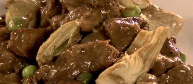 Beef Tips and Artichokes with Merlot and Black Pepper Gravy ...