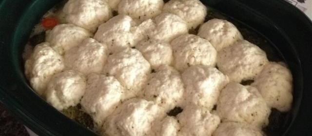Mom's Chicken and Dumplings (Slow Cooker Version)