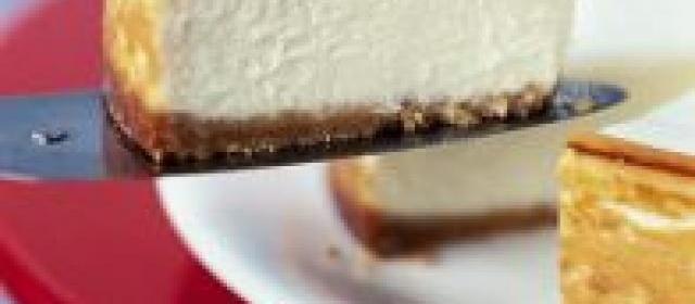 Easy New York Cheesecake