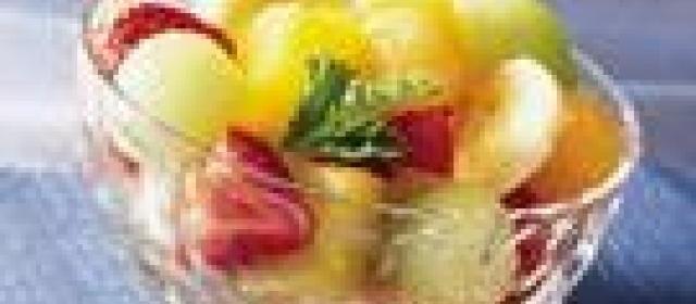 Overnight Gingered Fruit Bowl