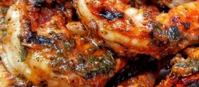 Marinated Grilled Shrimp