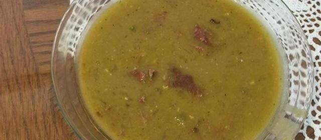Pressure Cooker Split Pea Soup