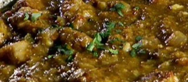 Beef and Bean Chili with Toppings Bar Recipe