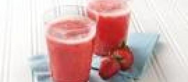 Strawberry-Hard Lemonade Slush