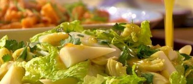 Hearts of Romaine, Palm and Artichoke with Citrus Dijon Dressing ...