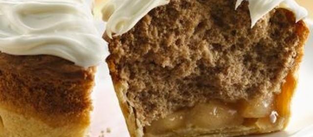 Apple Spice Jumbo Pie Cupcakes