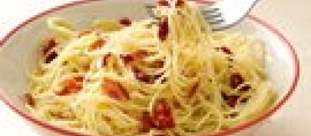 Sun-Dried Tomato Angel Hair Pasta with Bacon