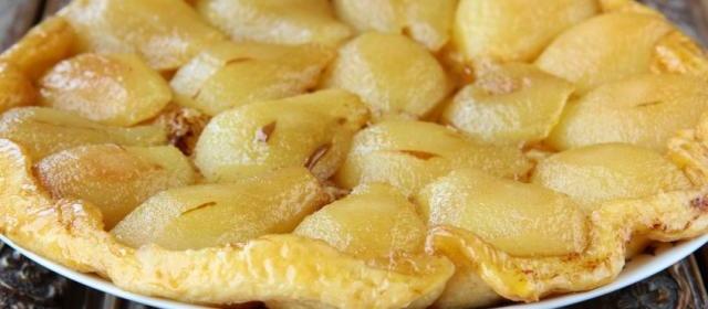 Apple, Pear & Quince Tarte Tatin