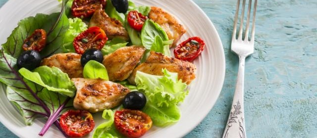 Chicken, Pecan and Cherry Salad