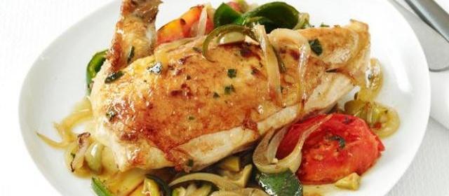 Chicken Veracruz Recipe | Food Network Kitchen | Food Network