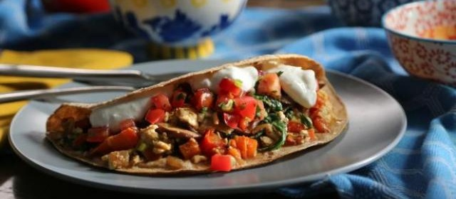 Breakfast Fajitas Recipe | Valerie Bertinelli | Food Network