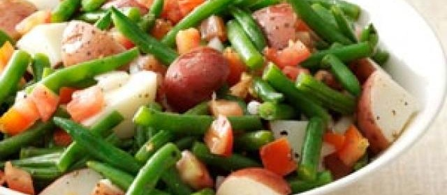 Warm Green Bean & Potato Salad