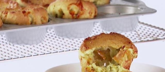 Breakfast Popovers with Italian Sausage Recipe