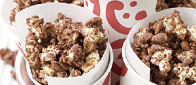 Grandma's Chocolate Popcorn