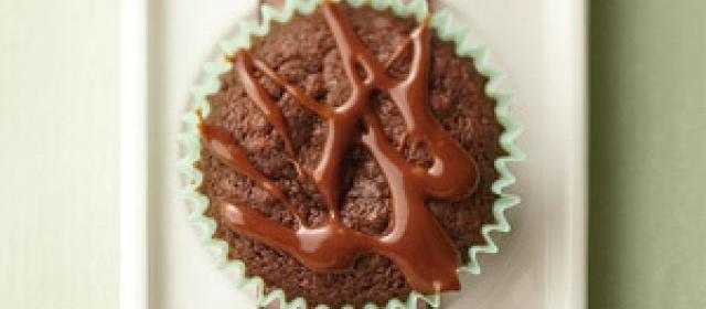 Chocolate-Caramel Cupcake Cookies