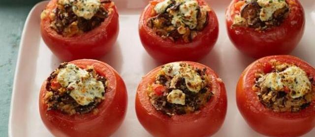 Stuffed Tomatoes Recipe | Alton Brown | Food Network
