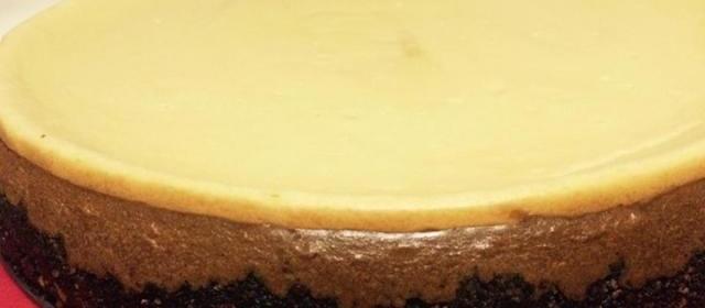 Sugar Free Mocha Cheesecake