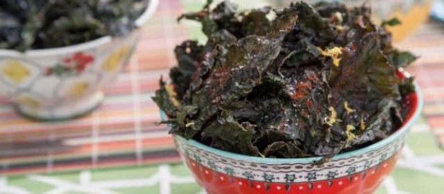 Kale Chips, Three Ways Recipe | Valerie Bertinelli | Food Network