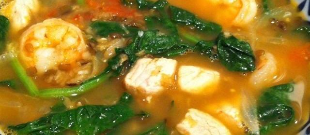 Mongo Guisado (Mung Bean Soup)