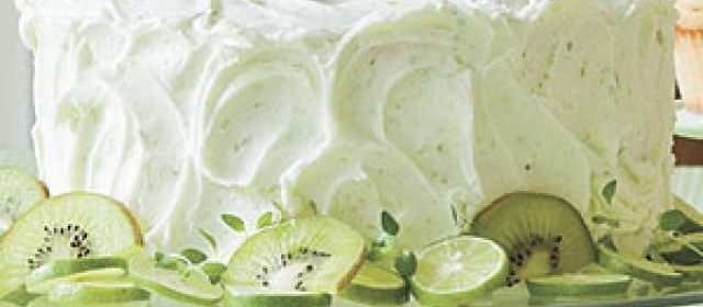 Key Lime Buttercream Frosting