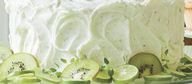 Key Lime Buttercream Frosting
