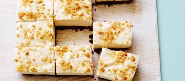 Healthy No-Bake Peanut Butter Cheesecake Bars Recipe | Food ...