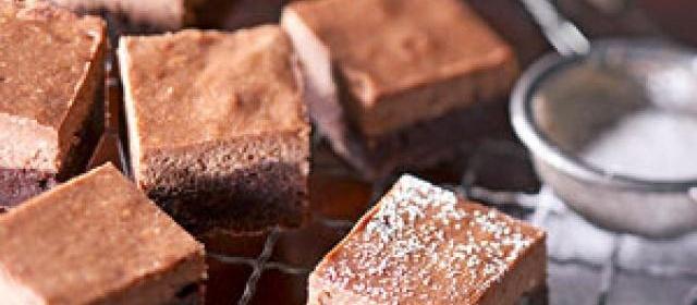Chocolate-Hazelnut Cheesecake Brownies